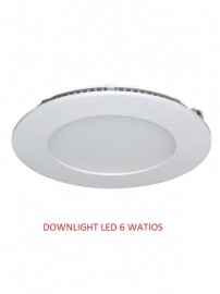 DOWNLIGHT 6 WATIOS 6000K
