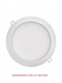 DOWNLIGHT 12 WATIOS 6000K