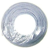 HILO FLEXIBLE 1.5 MM GRIS 100 METROS LIBRE DE HALOGENOS