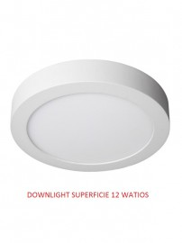 DOWNLIGHT LED SUPERFICIE 12 WATIOS 6000 K