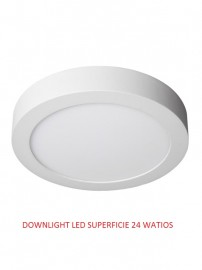 DOWNLIGHT LED SUPERFICIE  24 WATIOS 4500K