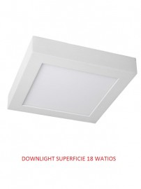 DOWNLIGHT LED SUPERFICIE  18 WATIOS 4500K