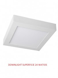 DOWNLIGHT LED SUPERFICIE  24 WATIOS 6000K